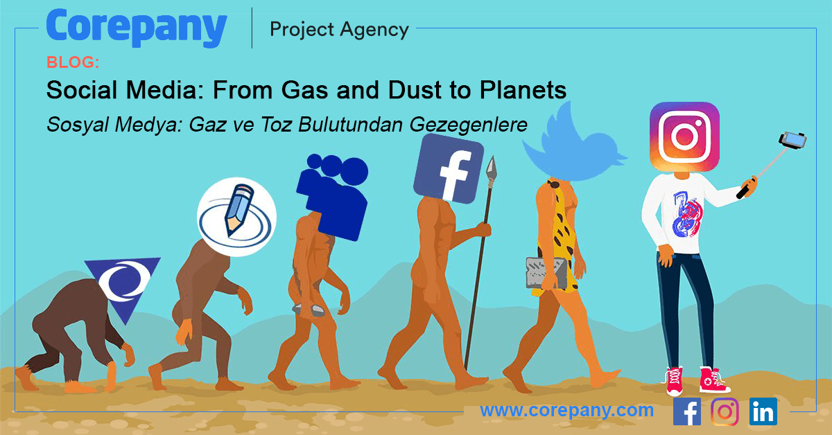 Social Media: From Gas and Dust to Planets